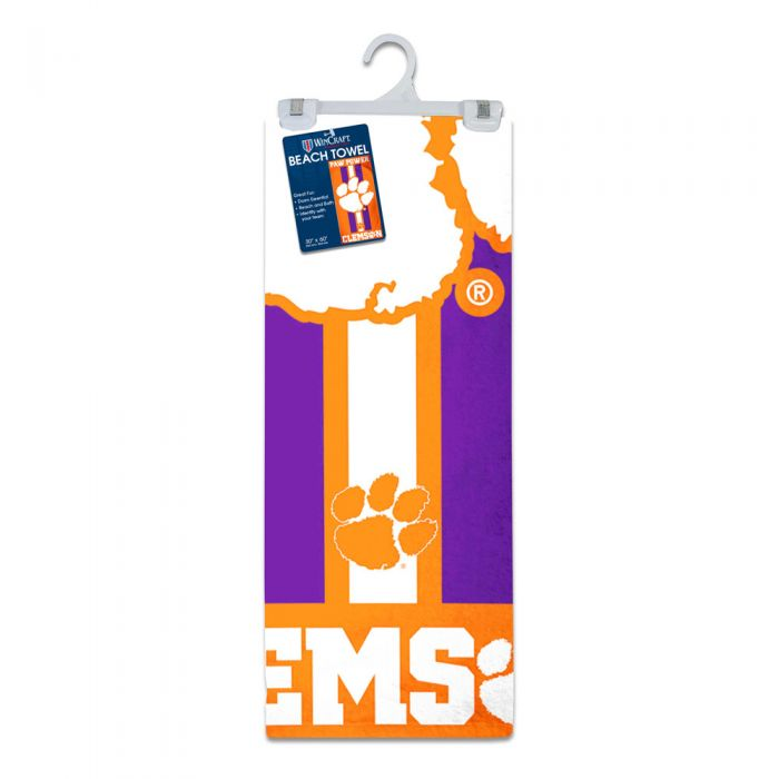 30 x 60 inches WinCraft LSU Tigers Beach Towel with Premium Spectra Graphics