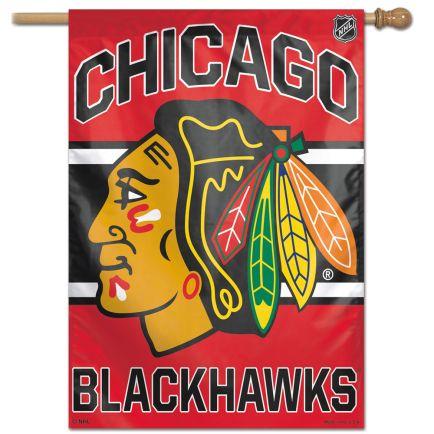 """Chicago Blackhawks Vertical Flag 28"""" x 40"""""""