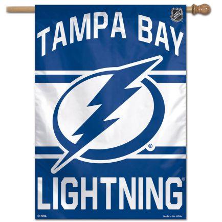 "Tampa Bay Lightning Vertical Flag 28"" x 40"""
