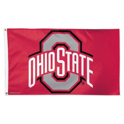 Ohio State Buckeyes Flag - Deluxe 3' X 5'