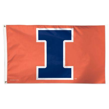 Illinois Fighting Illini Flag - Deluxe 3' X 5'