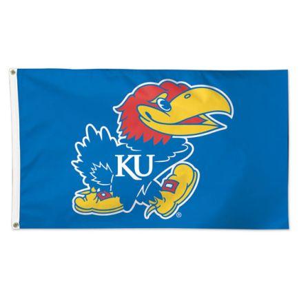 Kansas Jayhawks Flag - Deluxe 3' X 5'