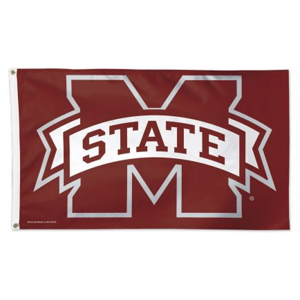 Mississippi State Bulldogs Flag - Deluxe 3' X 5'