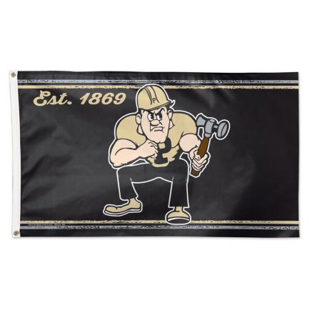 Purdue Boilermakers / Mascot NCAA Flag - Deluxe 3' X 5'