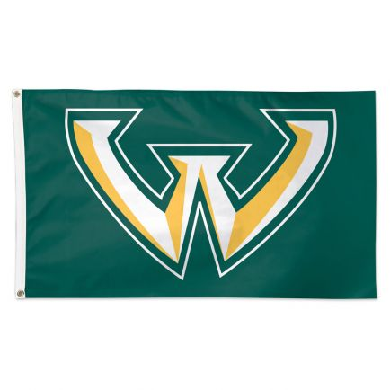 Wayne State Warriors Flag - Deluxe 3' X 5'
