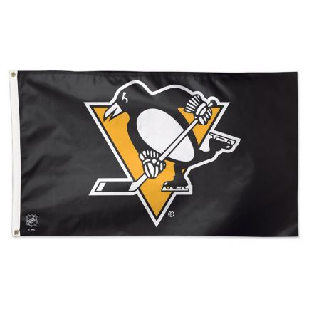 Pittsburgh Penguins Flag - Deluxe 3' X 5'