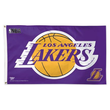 Los Angeles Lakers Flag - Deluxe 3' X 5'