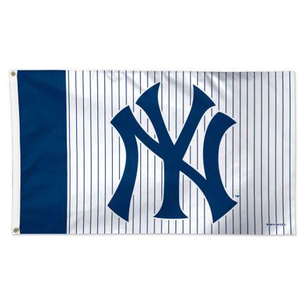 New York Yankees Pinstripe Flag - Deluxe 3' X 5'