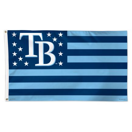 Tampa Bay Rays / Patriotic Flag - Deluxe 3' X 5'