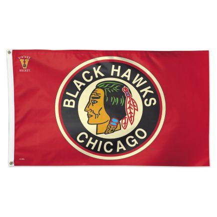 Chicago Blackhawks Flag - Deluxe 3' X 5'