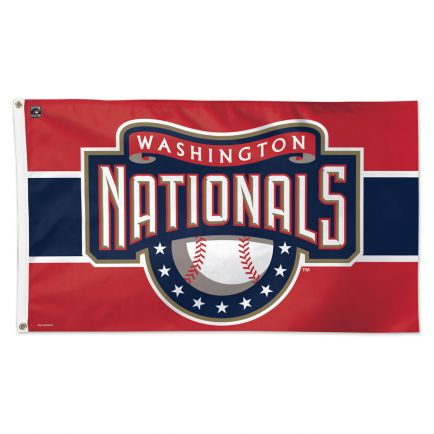 Washington Nationals / Cooperstown Flag - Deluxe 3' X 5'
