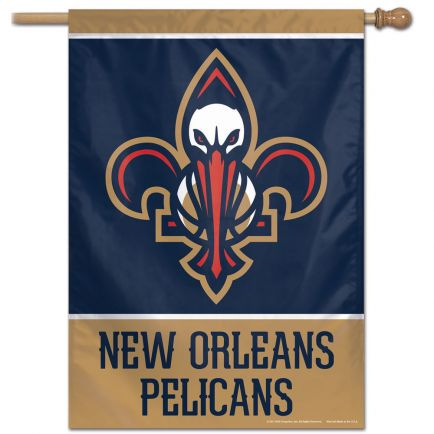 "New Orleans Pelicans Vertical Flag 28"" x 40"""
