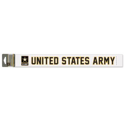 """U.S. Army W/ Logo Perfect Cut Decals 2"""" x 17"""""""