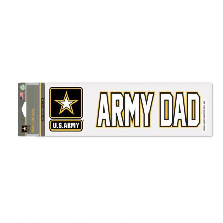 """U.S. Army Perfect Cut Decals 3"""" x 10"""""""