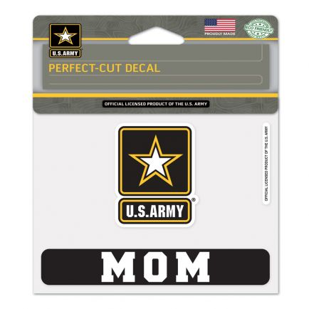 """U.S. Army """"MOM"""" Perfect Cut Color Decal 4.5"""" x 5.75"""""""