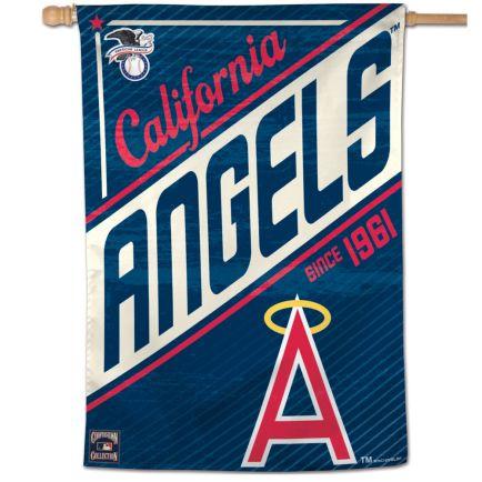 "Angels / Cooperstown cooperstown Vertical Flag 28"" x 40"""