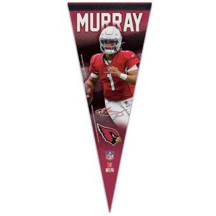 """Arizona Cardinals Premium Pennant 12"""" x 30"""" Kyler Murray"""