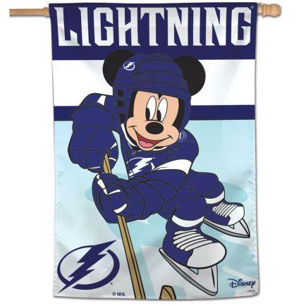 "Tampa Bay Lightning / Disney DISNEY Vertical Flag 28"" x 40"""