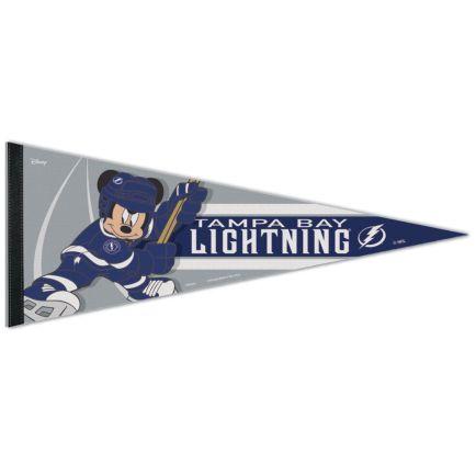 "Tampa Bay Lightning / Disney DISNEY Premium Pennant 12"" x 30"""