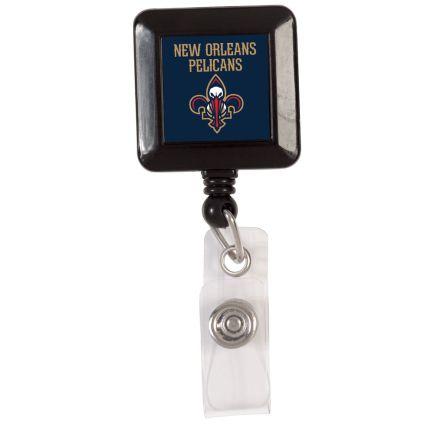 New Orleans Pelicans Retractable Badge Holder