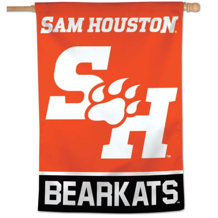 "Sam Houston State Bearkats Vertical Flag 28"" x 40"""