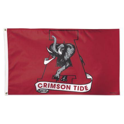 Alabama Crimson Tide /College Vault Flag - Deluxe 3' X 5'