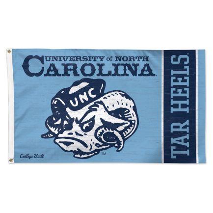 North Carolina Tar Heels /College Vault Flag - Deluxe 3' X 5'