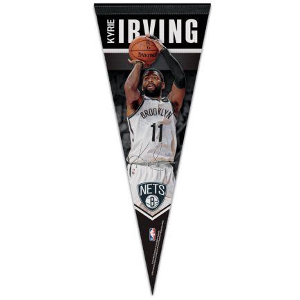 "Brooklyn Nets Premium Pennant 12"" x 30"" Kyrie Irving"