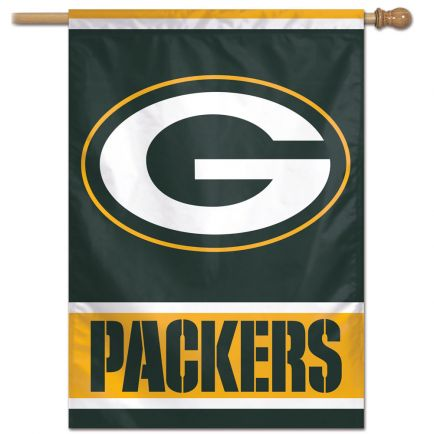 "Green Bay Packers Vertical Flag 28"" x 40"""
