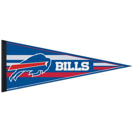 "Buffalo Bills Mesh Bkg Classic Pennant, carded 12"" x 30"""