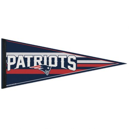 """New England Patriots Mesh Bkg Classic Pennant, carded 12"""" x 30"""""""