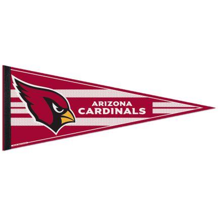 "Arizona Cardinals Mesh Bkg Classic Pennant, carded 12"" x 30"""