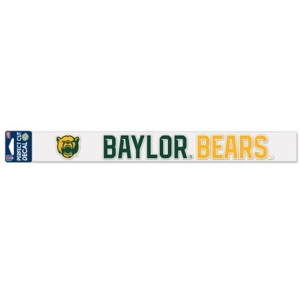 "Baylor Bears Perfect Cut Decals 2"" x 17"""
