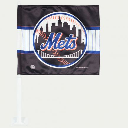 "New York Mets Car Flag 11.75"" x 14"""
