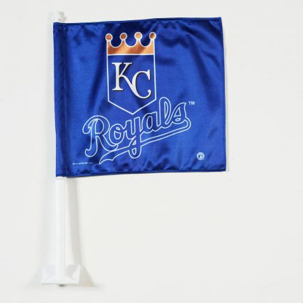 "Kansas City Royals Car Flag 11.75"" x 14"""