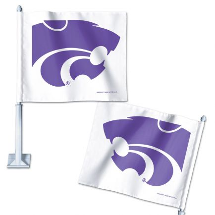 "Kansas State Wildcats Car Flag 11.75"" x 14"""