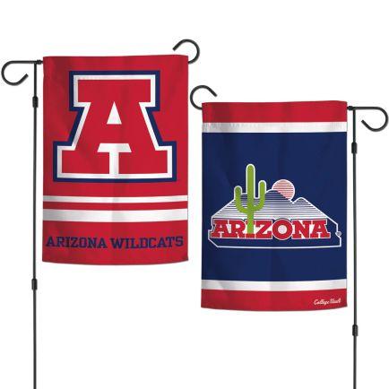 "Arizona Wildcats / Vintage Collegiate Garden Flags 2 sided 12.5"" x 18"""