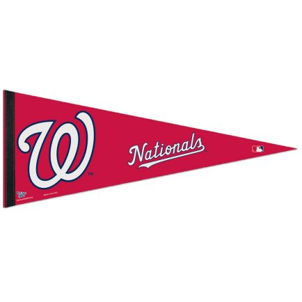 """Washington Nationals Classic Pennant, carded 12"""" x 30"""""""