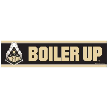 "Purdue Boilermakers Bumper Strip 3"" x 12"""
