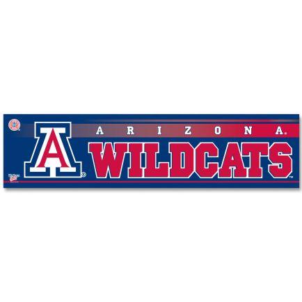 "Arizona Wildcats Bumper Strip 3"" x 12"""