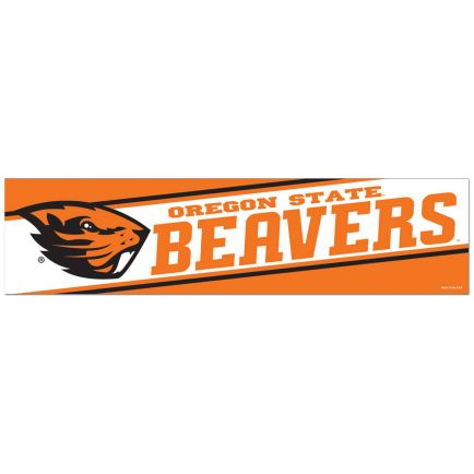"Oregon State Beavers Bumper Strip 3"" x 12"""