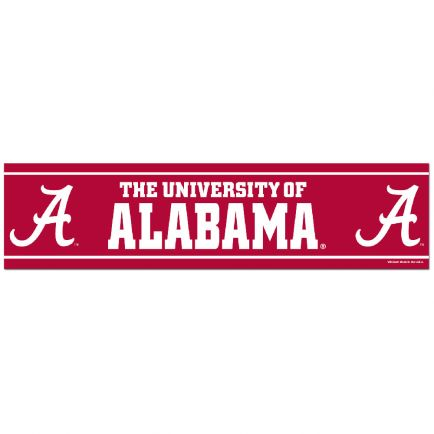 """Alabama Crimson Tide Bumper Strip 3"""" x 12"""""""