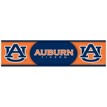 """Auburn Tigers Bumper Strip 3"""" x 12"""""""