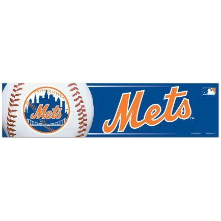 "New York Mets Bumper Strip 3"" x 12"""