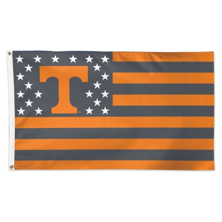 Tennessee Volunteers / Stars and Stripes NCAA Flag - Deluxe 3' X 5'