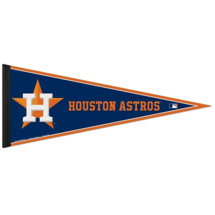 "Houston Astros Classic Pennant, carded 12"" x 30"""
