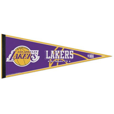 "Los Angeles Lakers Classic Pennant, carded 12"" x 30"""