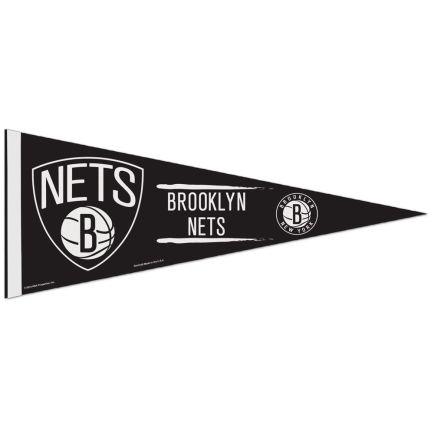 "Brooklyn Nets Classic Pennant, carded 12"" x 30"""