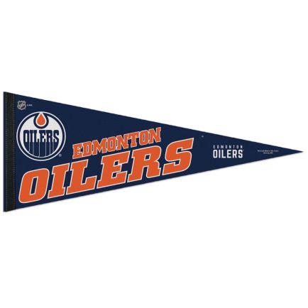 "Edmonton Oilers Classic Pennant, carded 12"" x 30"""