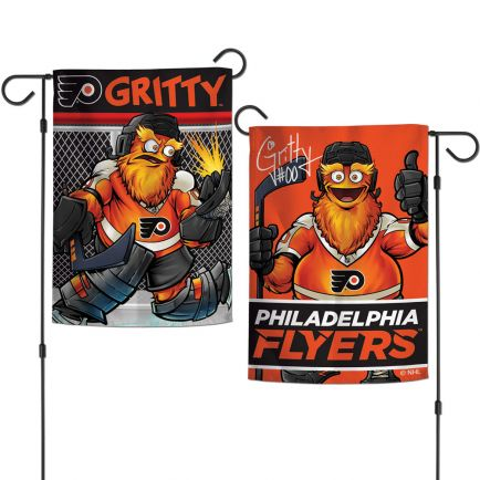 "Philadelphia Flyers Garden Flags 2 sided 12.5"" x 18"""